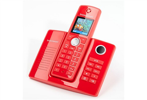 bruno banani s511rs schnurloses design telefon mit. Black Bedroom Furniture Sets. Home Design Ideas